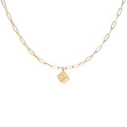 COLLANA PDPAOLA PLAYER GOLD
